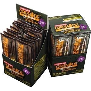 Grenade 50 Calibre Pre Workout Sachets