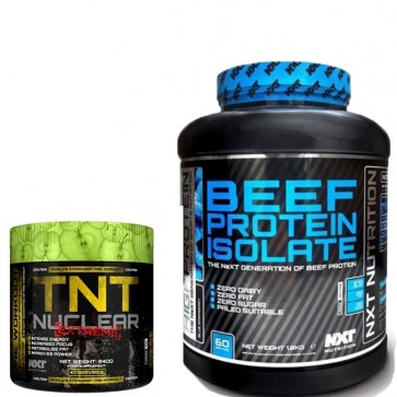 NXT Nutrtion Beef Protein Pre Workout Bundle