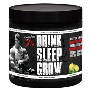 5% Nutrition Drink Sleep Grow Night Time Aminos Lemon & Lime