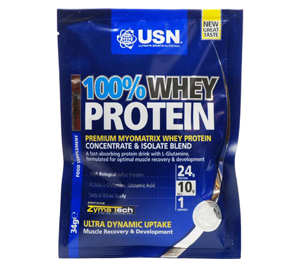 USN Whey Protein Sample