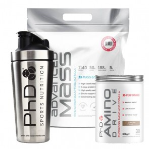 PhD Advanced Mass Amino Shaker Stack
