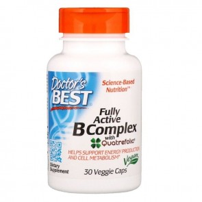 Doctor's Best Fully Active B-Complex 30 Veg Capsules