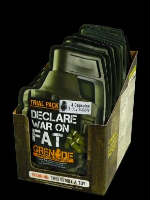 Grenade Thermo Detonator Sample Pack 4 Capsules