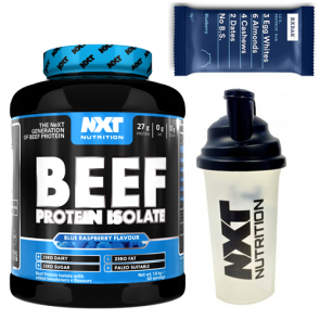NXT Beef Protein plus FREE shaker and FREE protein bar