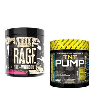 Warrior Supplements Pre-Workout Stack with NXT Pump