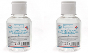 Hand Sanitiser Gel 2x100ml twin pack