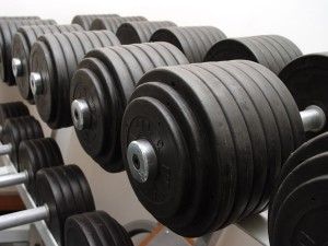Heavy weights as part of a bulking plan